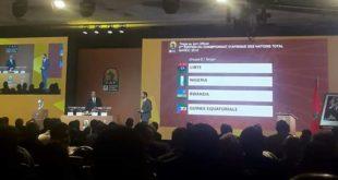 """قرعة """"الشان"""": المغرب في المجموعة الأولى إلى جانب غينيا والسودان وموريتانيا"""